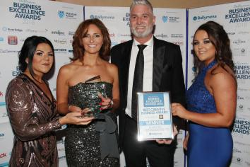 Business award winners celebrate at Tullyglass