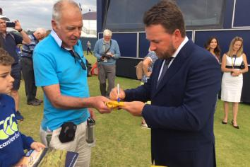Record crowds at The 148th Open