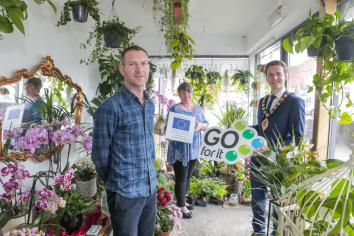 Celebrity florist comes back to his roots with blossoming new business in Ballymena