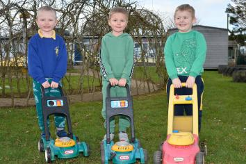 Gallery: Having fun outside at Ballymena Nursery and Harryville  PS