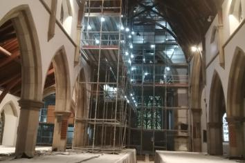 St. Patrick's - slideshow shows extent of works at iconic local building