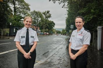 Police and Fire Service unite for Halloween safety message