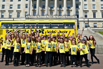 Raise the Roof kids choir recommencing