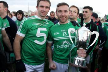 Cargin collect their eighth Championship