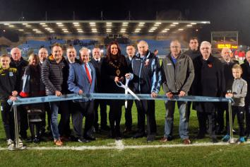 New pitch officially opened by Mayor