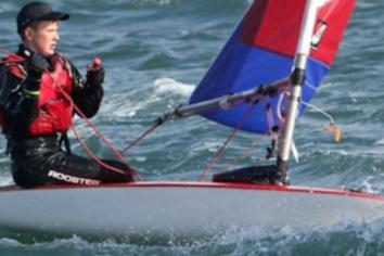 Tom and Ethan selected for RYA NI Topper Performance Programme