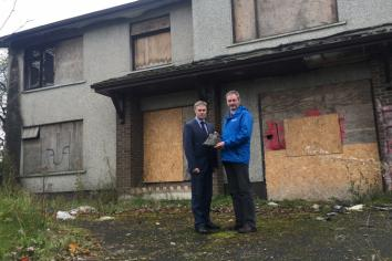 Derelict property is a 'magnet for anti-social behaviour'