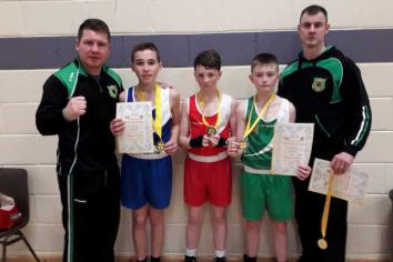 Gold honours for All Saints lads in Ulster Championships