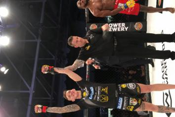 Rhys McKee is set to make waves in the Cage Warriors Lightweight Division