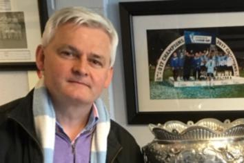 Cup final may tempt Stephen to get nostalgic!