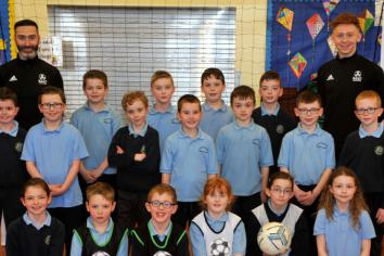 Portglenone PS pupils enjoy coaching fun