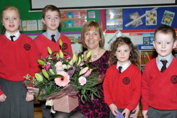 Mrs Karen McComb retires from Hazelbank PS