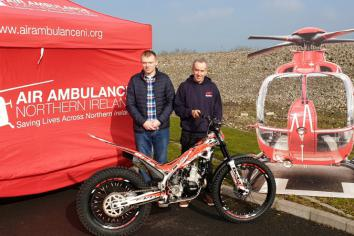 Mid Antrim Club aid for Air Ambulance NI
