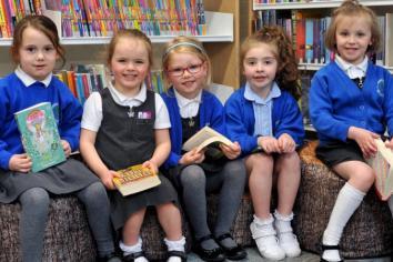 Bookworms visit refurbished library