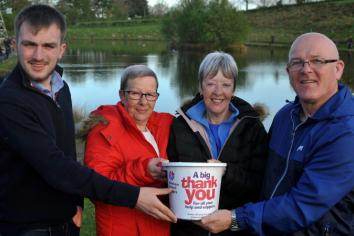 Anglers reel in £710 for NI Hospice