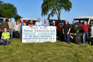 Vintage event takes on Land Rover theme