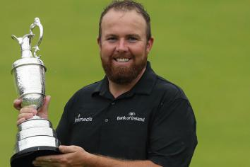 Shane celebrates Open success