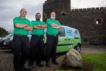 Green Dog Walker vans get 'furbulous' makeover