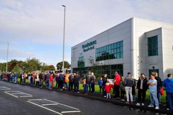 Jobs fair and rallies as MP urges Government action on Wrightbus