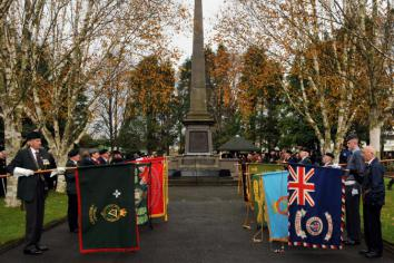 Remembrance Parade times