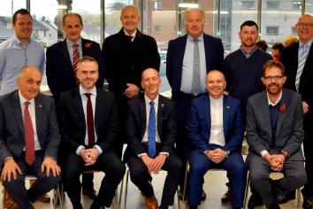 Moderator officially re-opens First Ballymena Presbyterian Church