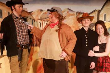 Curtain set to rise on production of Calamity Jane