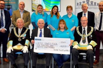 Masonic Committee raises £6,048 for Castle Tower