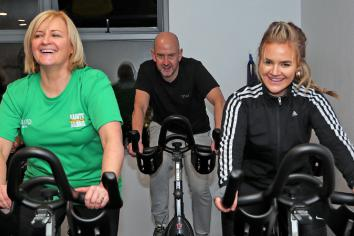 'Saints & Slimmers' up and running