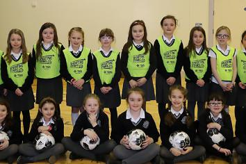 St. Colmcilles and Ballykeel Primary Schools enjoy Shooting Stars programme