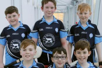 Creggan Primary crowned Schools' Hurling Champions