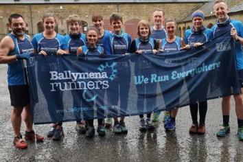 Ballymena Runners take on Storm Dennis