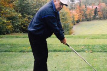 Dream come true for blind golf legend Drew