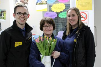 Marbeth celebrates 30th anniversary supporting dog welfare at Dog's Trust Rehoming Centre
