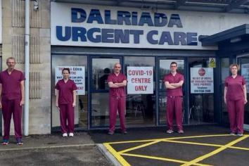 COVID-19 facility staff ready for health battle