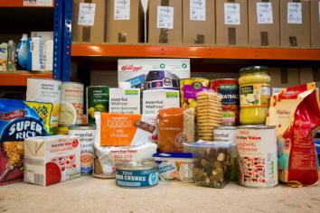 Foodbanks can get £2000 grant aid