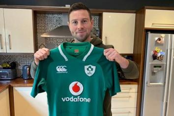 Win John Cooney's signed jersey - and raise funds for Cancer Focus