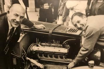 Stirling Moss visit to Ballymena