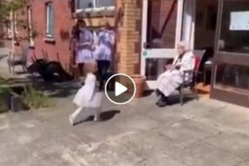 100 year old's Irish Dance video goes viral!