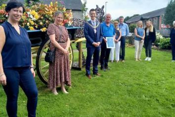 Cullybackey volunteers praised