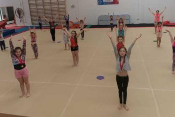 Somersaults all round as Ballymena gymnasts return to Valdez Club
