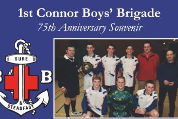 New book to mark 75 years of 1st Connor Boys' Brigade