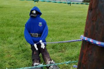 YFC members step up for scarecrow challenge contest