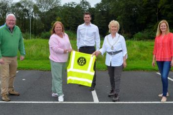 Rotarians get On Line preparing for Marathon funding raising Challenge