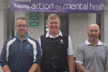 Galgorm Castle players raise over £500 for Action Mental Health