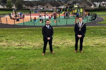 New Cullybackey Leisure area gets thumbs up