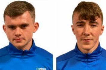 Ballymena United teenagers sign pro