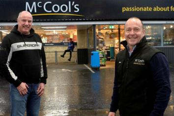 McCool's are BRC's primary sponsor