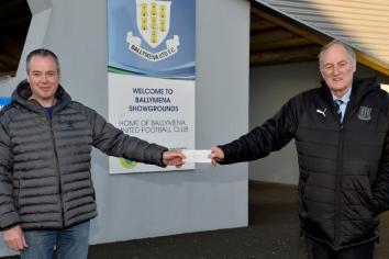Neil's 'We Love United' fund raiser nets £674
