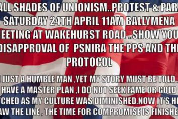 Loyalist protest and parade planned