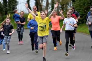Seth raises £1340 for great cause
